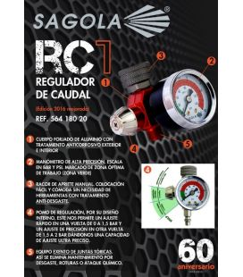 Manometro RC1 Sagola