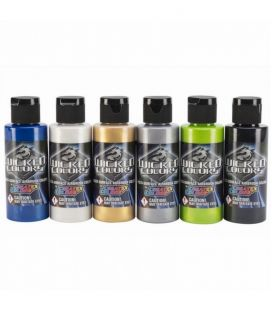 Set Paints Wicked Colors Createx (6ud x60ml)