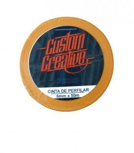 Cinta Perfilar de Arroz Custom Creative (6mm x 45mtr)