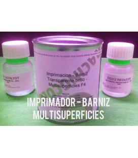 Imprimador Barniz F4-2K Multi Superficies - 1,2L