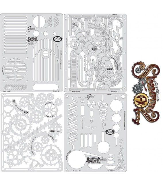 Templates Mini STEAMPUNK FX 2 Artool