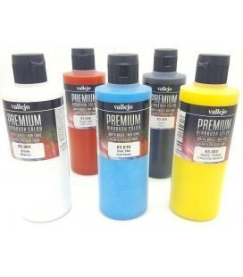 Kit Paint Airbrushing Premium Vallejo (5ud x 200ud)