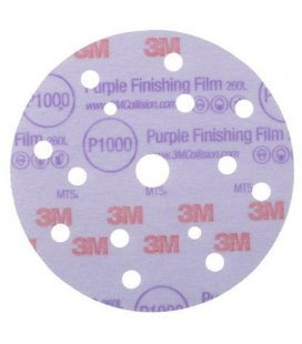 Discs 3M Hookit Purple 150mm (P800 to P1200) - 5ud
