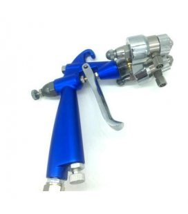 Gun CHROMING double Nozzle