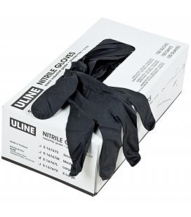 Gloves Nitrillo Extra Hard Black (100ud)