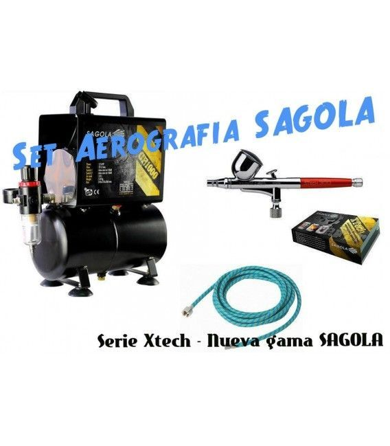 Set Airbrushing Sagola