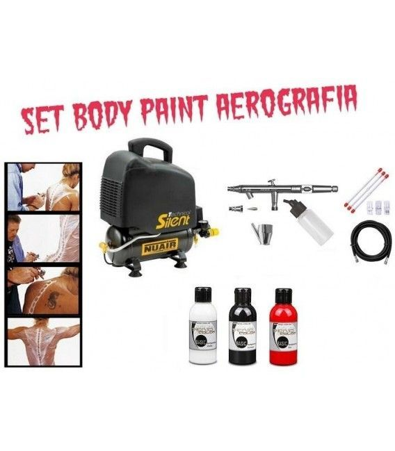 Set Body Paint Airbrush Professional