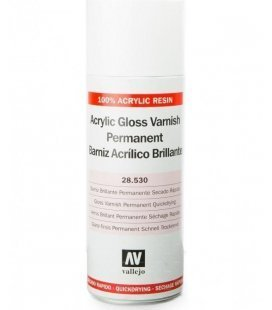 Spray Varnish Acrylic Gloss Vallejo