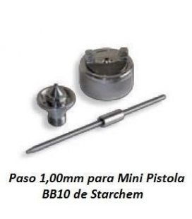 Peak/Needle/Nozzle 1.00 mm for BB10 Starchem