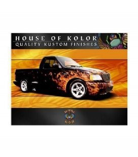 "Kit ""Fogo Real"" House Of Kolor (120ml x 5ud)"