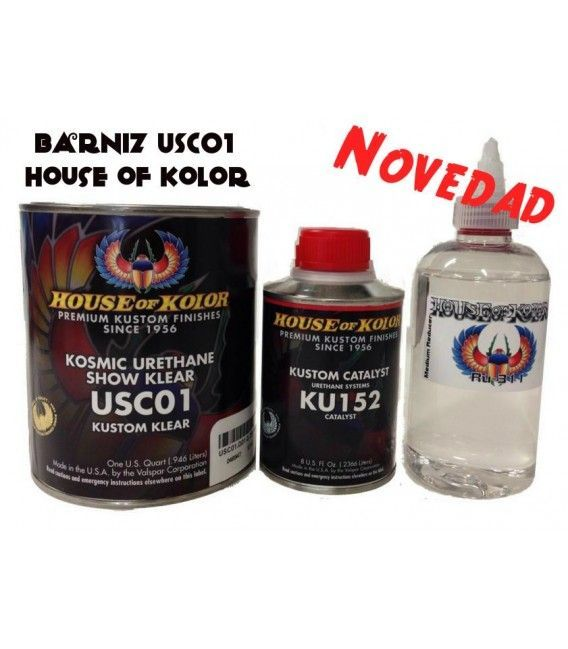 Kit Vernice USC01 House Of Kolor (800ml)