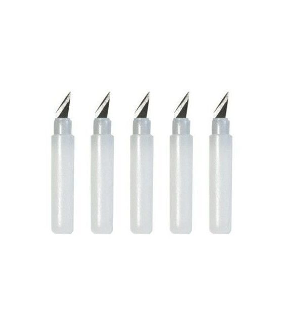 Spare scalpel 360 ° rotating (5 pcs)
