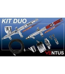 Kit De 2 Aerografos Ventus + Accessoris
