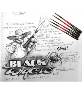 Brush Mack Black Widow - Nº000