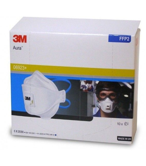 Box 10ud Mask Foldable with 3M Filter (-10%)