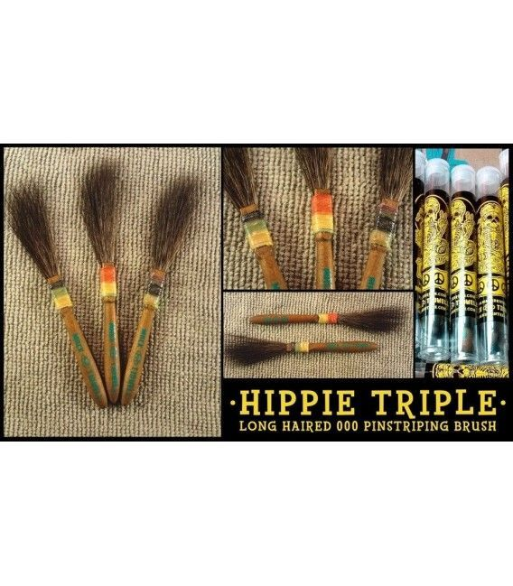 Cepillo Mack Hippy Triple - Nº 000 (-10%)