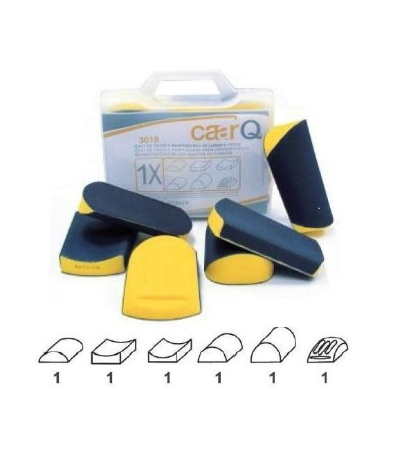 Professional Kit 6 Studs with Velcro Sanding