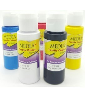 Set Painting, Textile Basic Medea (5ud x 56ml)