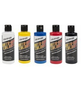 Set Tintas Semi-Opacas Auto-Air (5ud x 120ml)