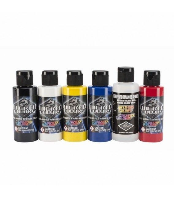 Set Colores Wicked Colors Createx (6ud)