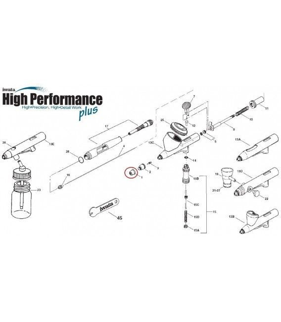 Spare Parts Iwata High Performance