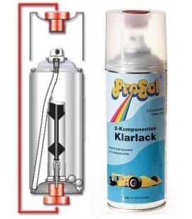 Spray Berniza Distira Bi-Osagaia