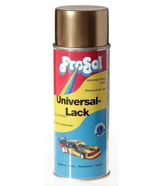 Pintura Spray Chrome Efecto De Ouro Prosol