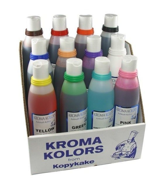 Set 12 Colorantes Aerografia Kroma Kolor (-10%)