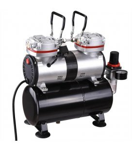 Aerografia Compressor Air Twin