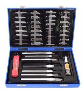 Briefcase Cutters / Scalpel + 40 accessories