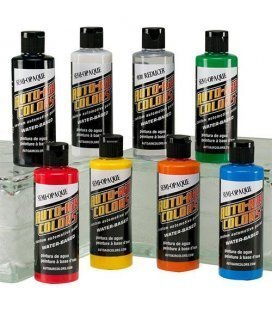Set Pinturas Auto Air Semi Opacas - 8ud x 120ml