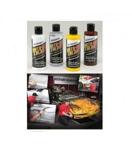 Set Pinturas Fuego Real Auto Air Richard Markham (4ud x 120ml)