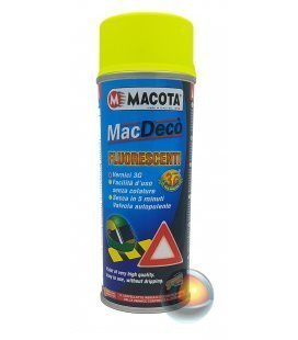 Spray Fluorescente Amarillo Macota 3G (400ml)