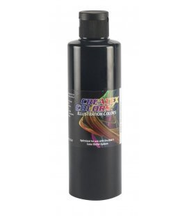 Pintura Illustration Createx Negro - 240ml