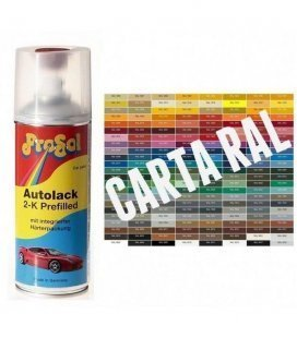 Spray 2K Pintura RAL BRILHO