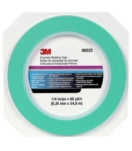 "Green ribbon Mint ""Precision"" of 3M (6mm x 54mtr)"