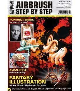 Zeitschrift Airbrush Step By Step - Nº36