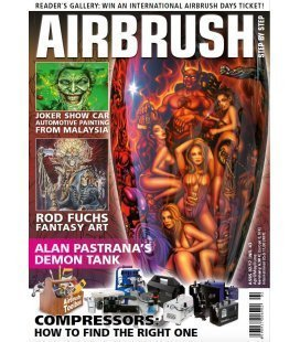 Zeitschrift Airbrush Step By Step - Nº43