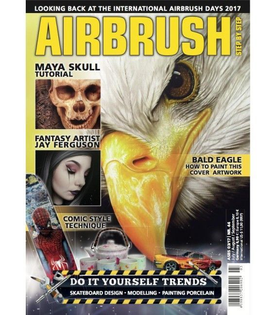 Zeitschrift Airbrush Step By Step - Nº44