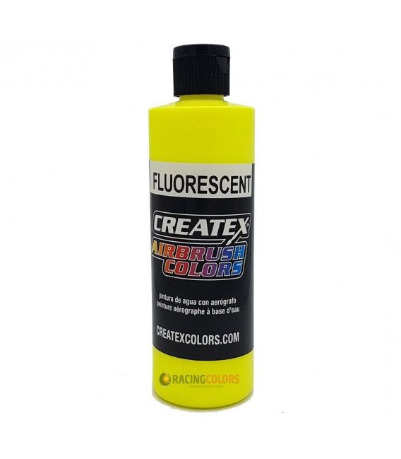 Pintura Createx Fluorescents de color Groc - 240ml