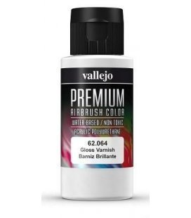 Gloss varnish Vallejo Premium - 60ml