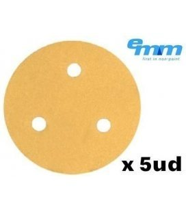 Mini Sandpaper Disc Velcro Prima (76mm) x 5ud