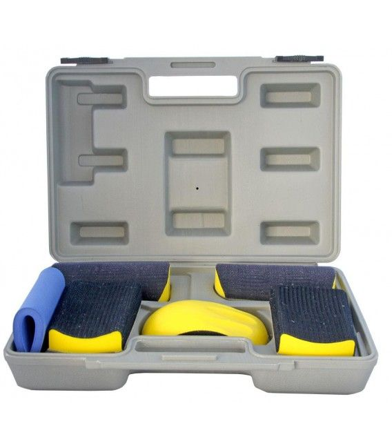 Carry case 6 foam sanding / polishing