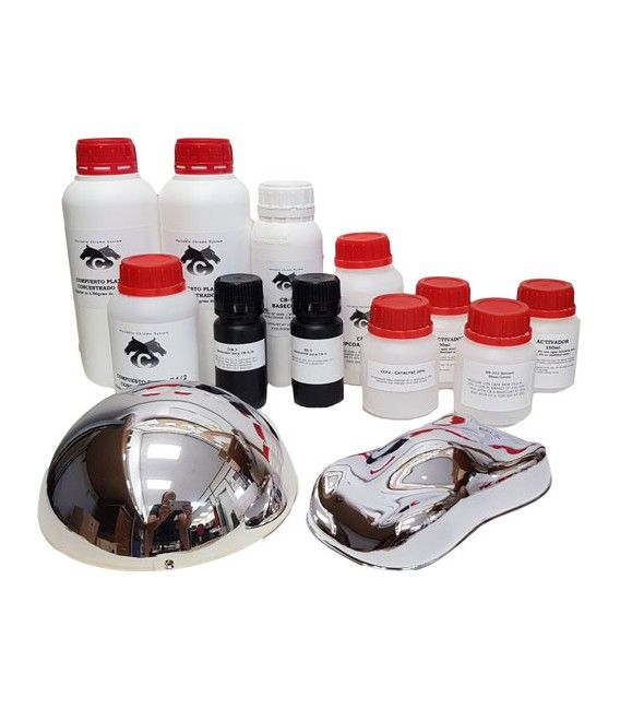 Set 5L FULL CHROME SYSTEM