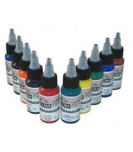 Set Farben Transparent Com-Art - KIT (28ml x 10ud)