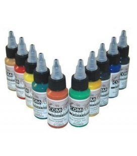 Set Pinturas Transparentes Com Art - KIT F (28ml x 10ud)