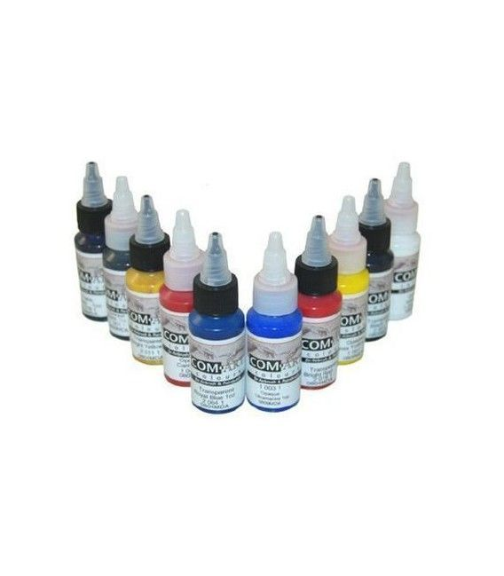 Set Di Quadri Trasp. / Opaco Com-Art KIT G (28 ml x 10ud)