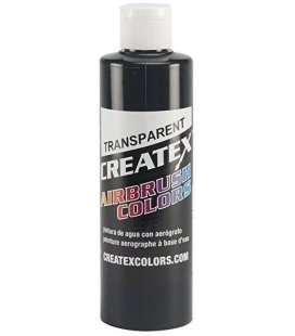 Paint Createx Black Transparent - 240ml