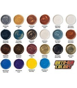 Paints Metallic Auto Air - 120ml