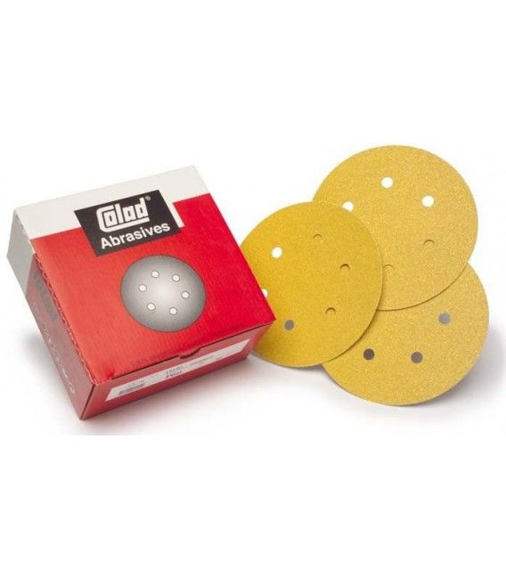 Mini Sandpaper Disc Velcro Premium (76mm) - Box 100ud